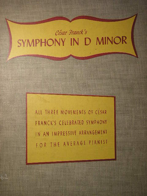 Image for Symphony in D Minor