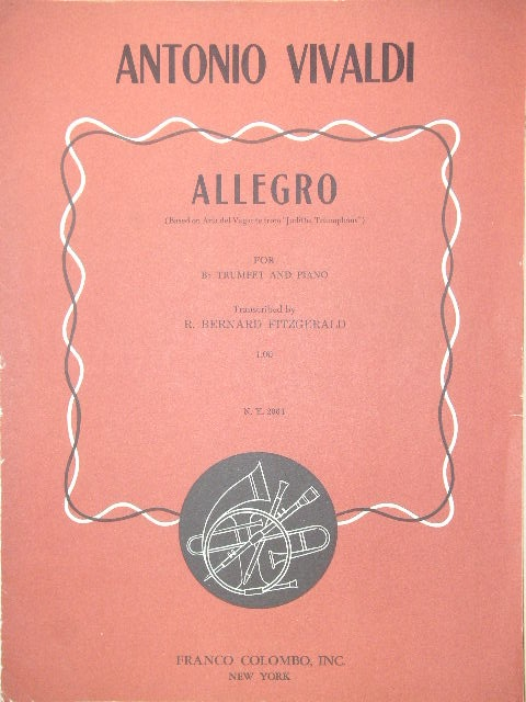 Image for Allegro (from Juditha Triumphans)