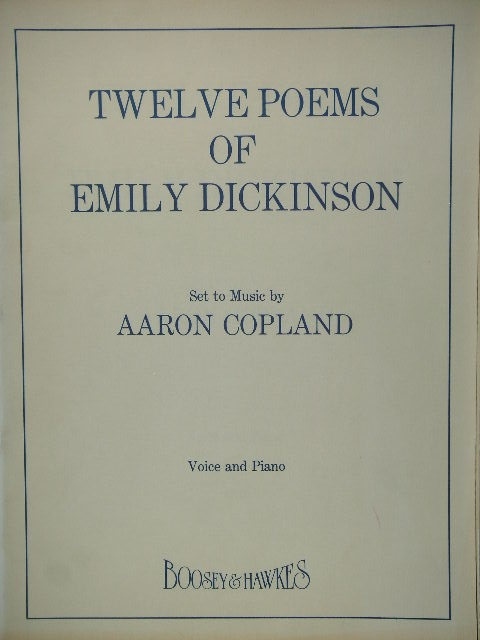 Image for Twelve Poems of Emily Dickinson