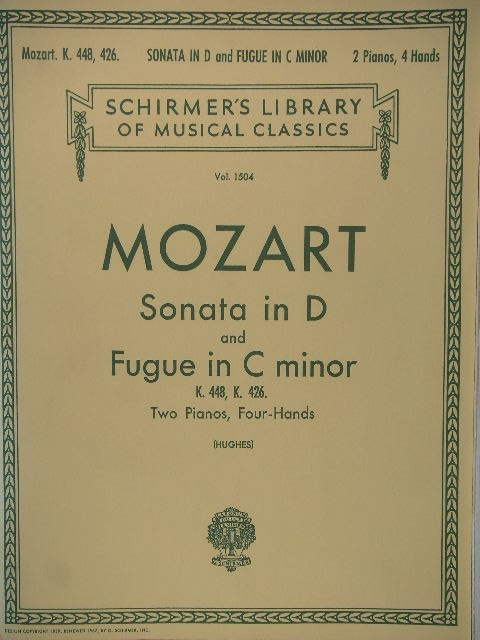 Image for Sonata in D/Fugue in C minor