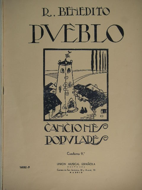 Image for Pueblo Cancione Populare Vol. 9