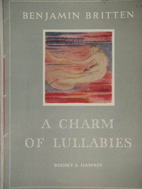 Image for A Charm of Lullabies Op. 41