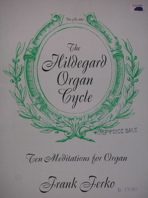 Image for The Hildegard Organ Cycle