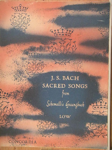 Image for FOLIO: J.S. Bach Sacred Songs from Schemelli's Gesangbuch