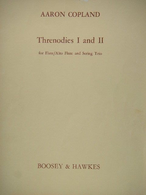 Image for Threnodies I and II