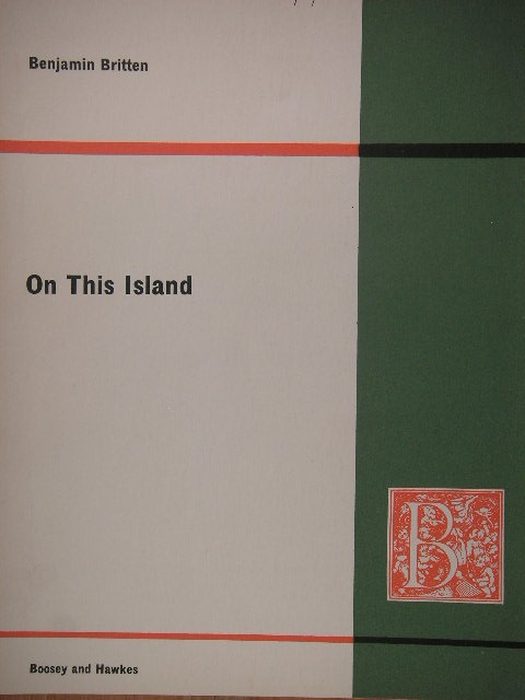 Image for On This Island Op. 11