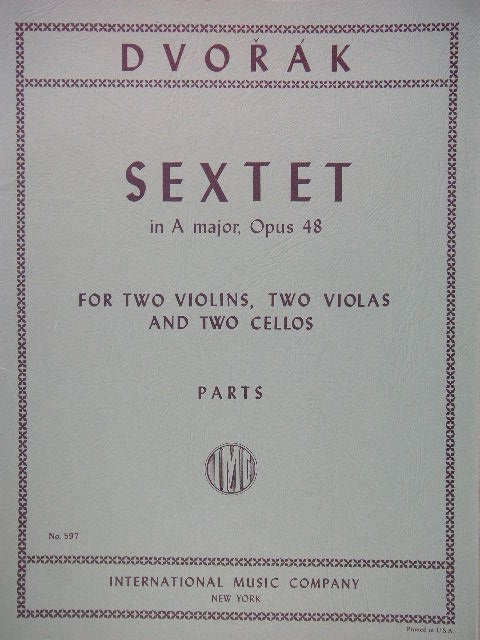 "Image for ""Sextet in A major, Op. 48"""