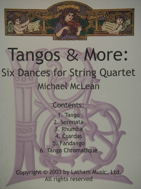 Image for Tangos and More: Six Dances for String Quartet