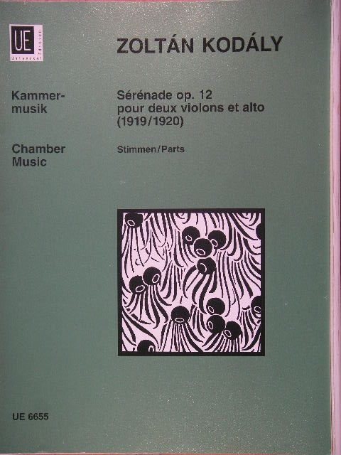 "Image for ""Serenade for String Trio, Op. 12"""
