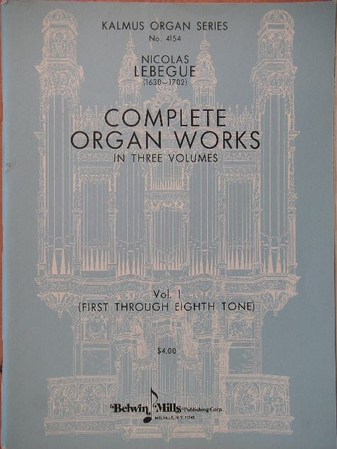Image for Complete Organ Works (Three Volumes)