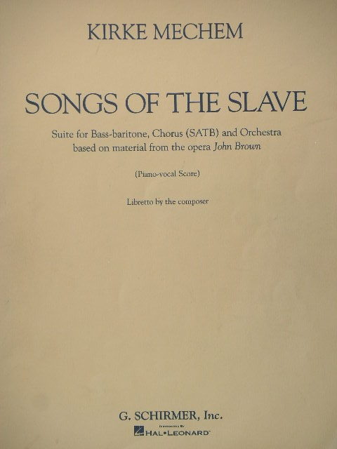 Image for Songs of the Slave