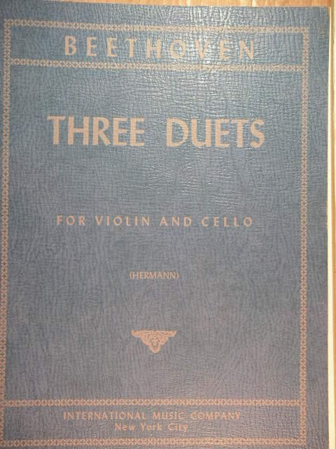 Image for Three Duets