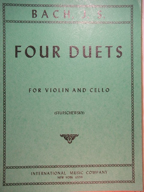 Image for Four Duets for Violin and Cello