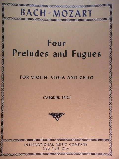 Image for Four Preludes and Fugues