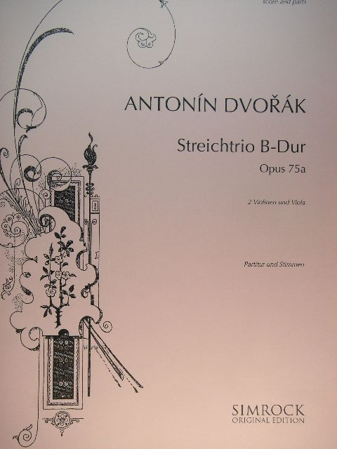 "Image for ""Streichtrio B-Dur, Op. 75a"""