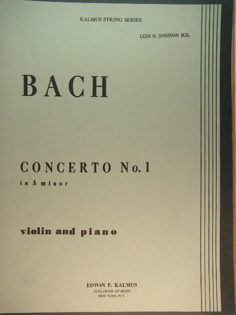 Image for Concerto No. 1 in A Minor