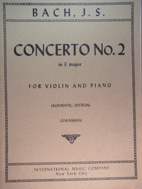 Image for Concerto No. 2 in E Major