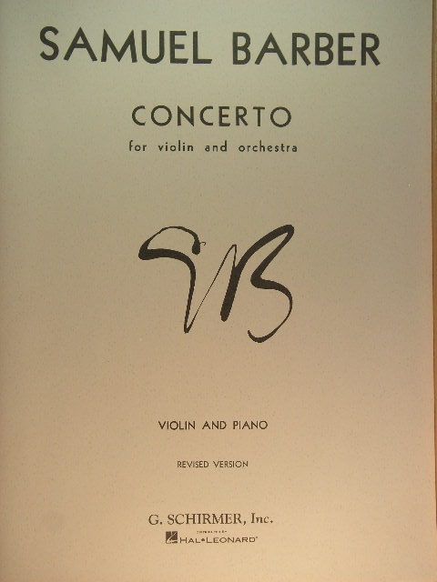 Image for Concerto for Violin and Orchestra