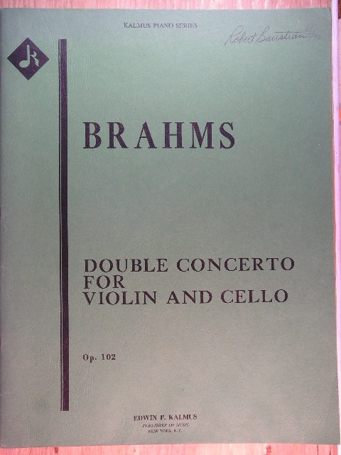 Image for Double Concerto for Violin and Cello