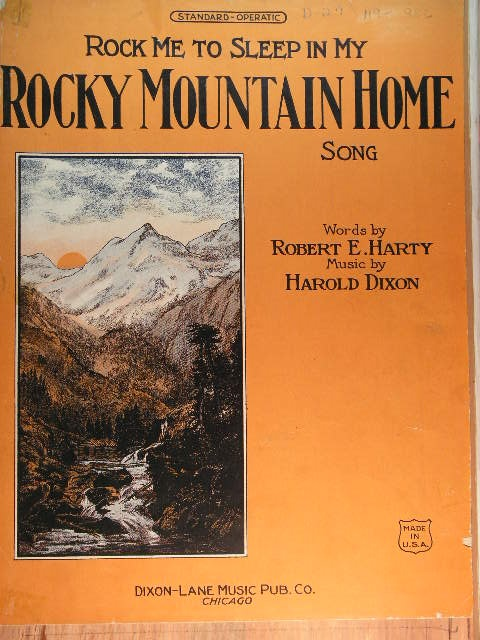 Image for (Rock Me to Sleep in My) Rocky Mountain Home