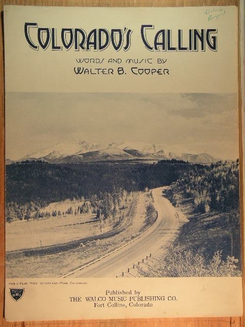 Image for Colorado's Calling