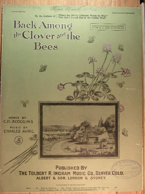 Image for Back Among the Clover and the Bees