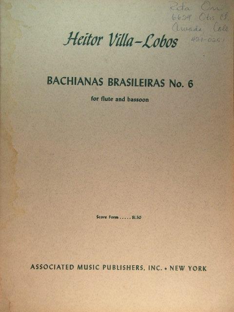 Bachianas Brasileiras: Cover Art