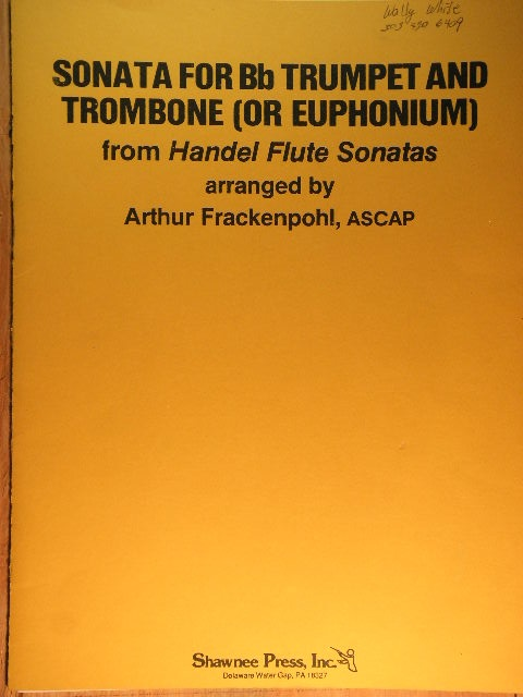 Image for Sonata for Trumpet and Trombone
