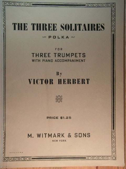 Image for The Three Solitaires (Polka)