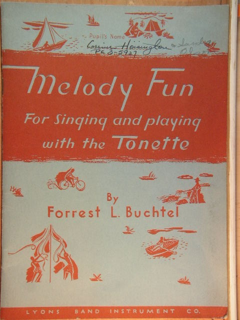 Image for Melody Fun for singing and playing…the Tonette