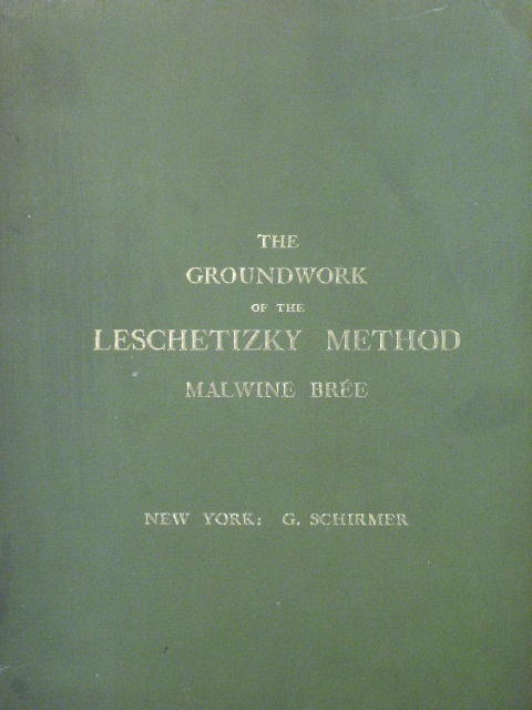 Image for The Groundwork of the Leschetizky Method