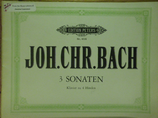 Image for Three Sonatas