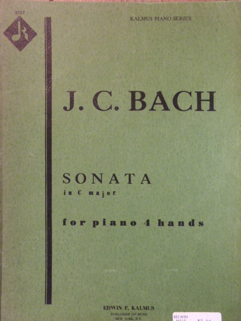 Image for Sonata in C major