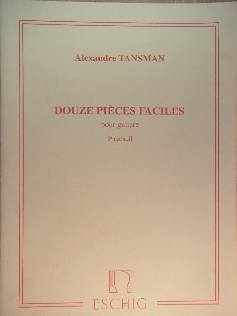 Image for Douze Pieces Faciles pour guitare (2 vol.)