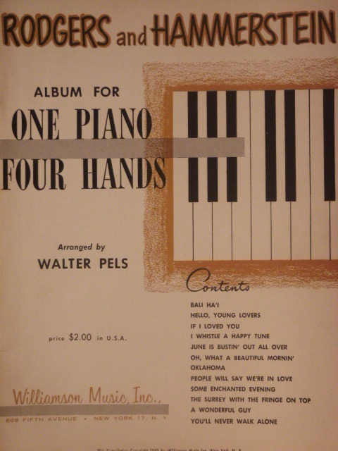 Image for ALBUM: For One Piano/Four Hands