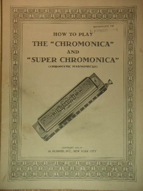 Image for COLLECTION: Two Harmonica Instruction Pamphlets