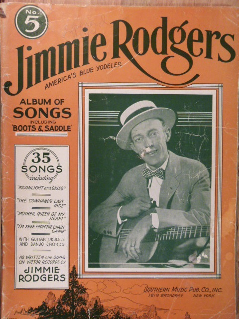 Image for ALBUM: Jimmie Rodgers Album of Songs No. 5
