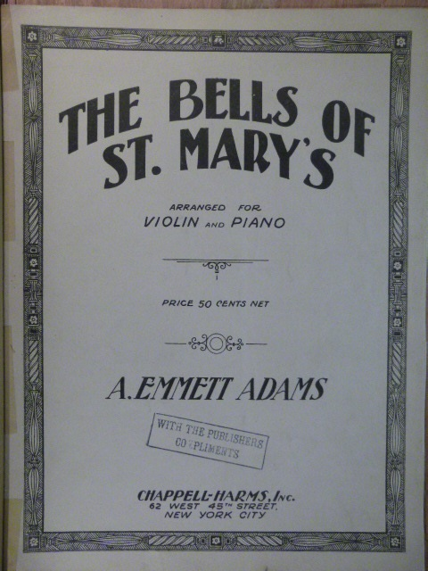 Image for The Bells of St. Mary's