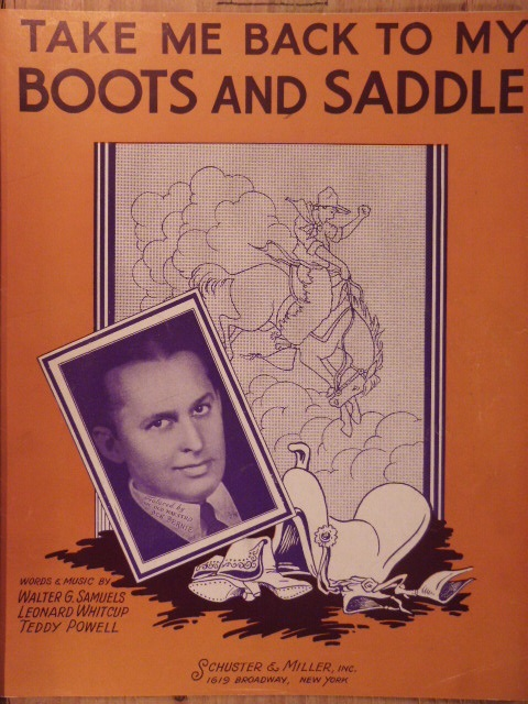 Image for Take Me Back to My Boots and Saddle