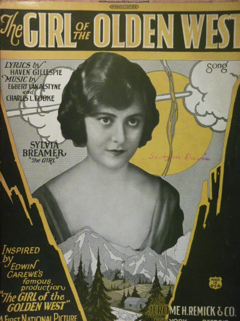 Image for The Girl of the Olden West