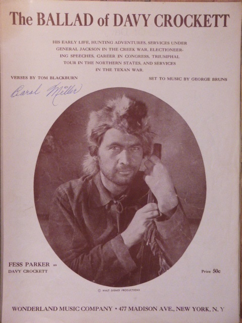 Image for The Ballad of Davy Crockett