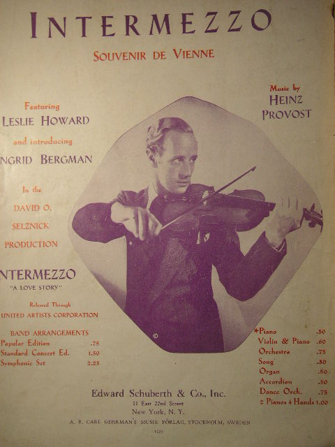 Image for Intermezzo (Souvenir de Vienne)