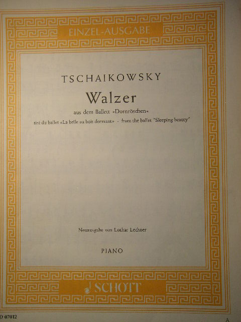 Image for Walzer from Sleeping Beauty