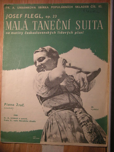 Image for Mala Tanecni Suita Op. 23