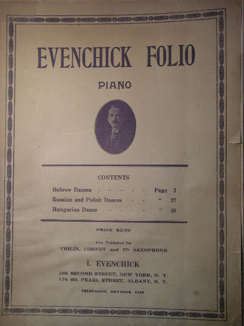 Image for Evenchick Folio for Piano