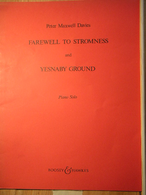 Image for Farewell to Stromness and Yesnaby Ground