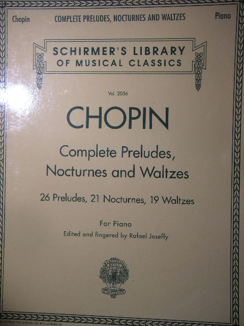 "Image for ""Complete Preludes, Nocturnes and Waltzes"""