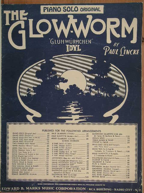 Image for The Glow-Worm