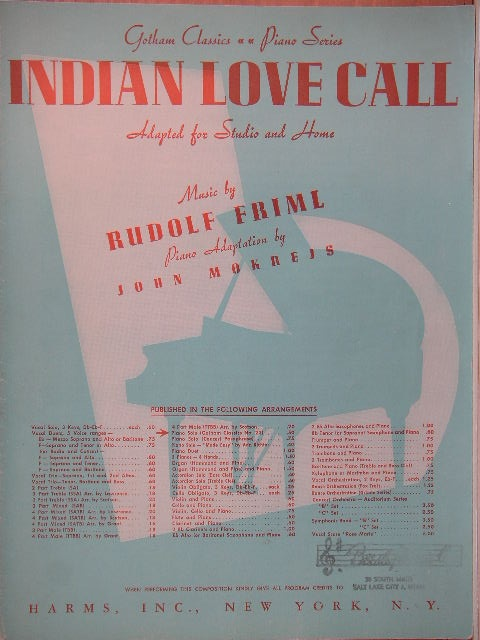 Image for Indian Love Call