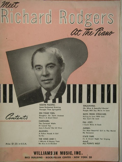 Image for ALBUM: Richard Rodgers at the Piano